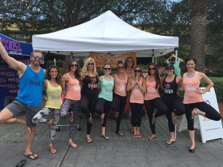 Full Circle Yoga T-Shirt Photo