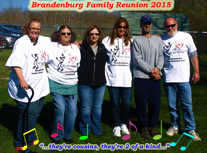 Cousins @ Family Reunion T-Shirt Photo