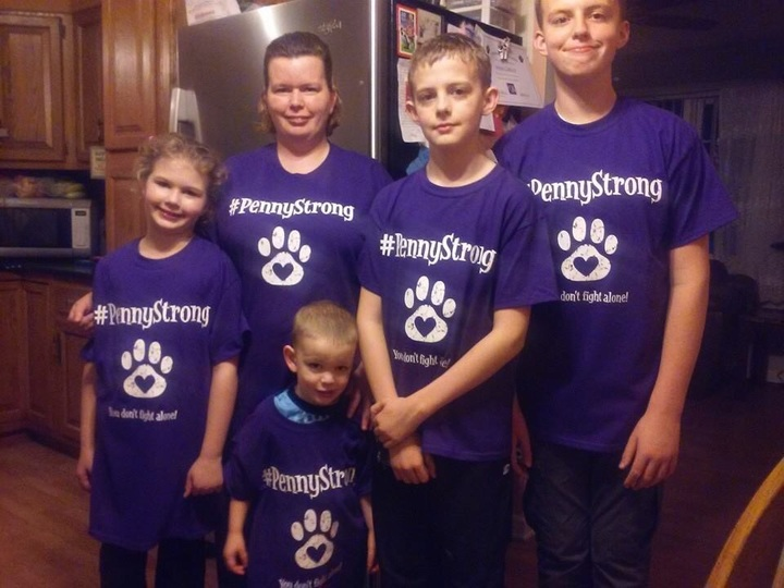My Second Family Showing Support For Our Pup, Penny T-Shirt Photo