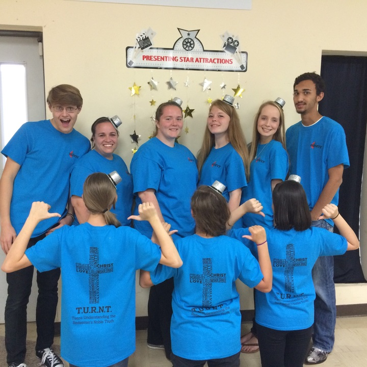 Heritage Umc's Turnt Youth Group! T-Shirt Photo