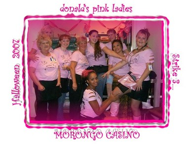 Donald's Pink Ladies T-Shirt Photo