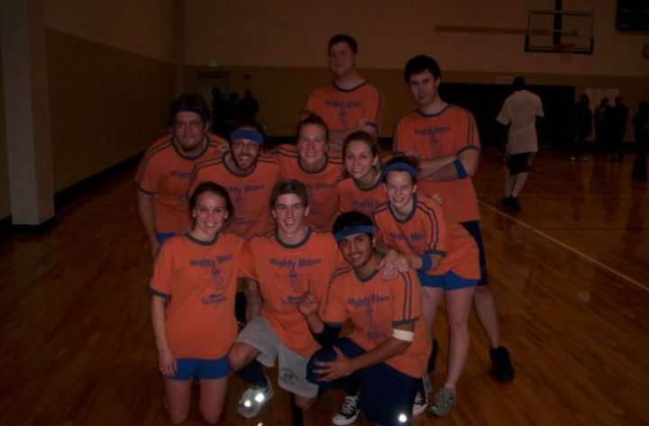 Mighty Mitos   Uab Dodgeball Champs T-Shirt Photo