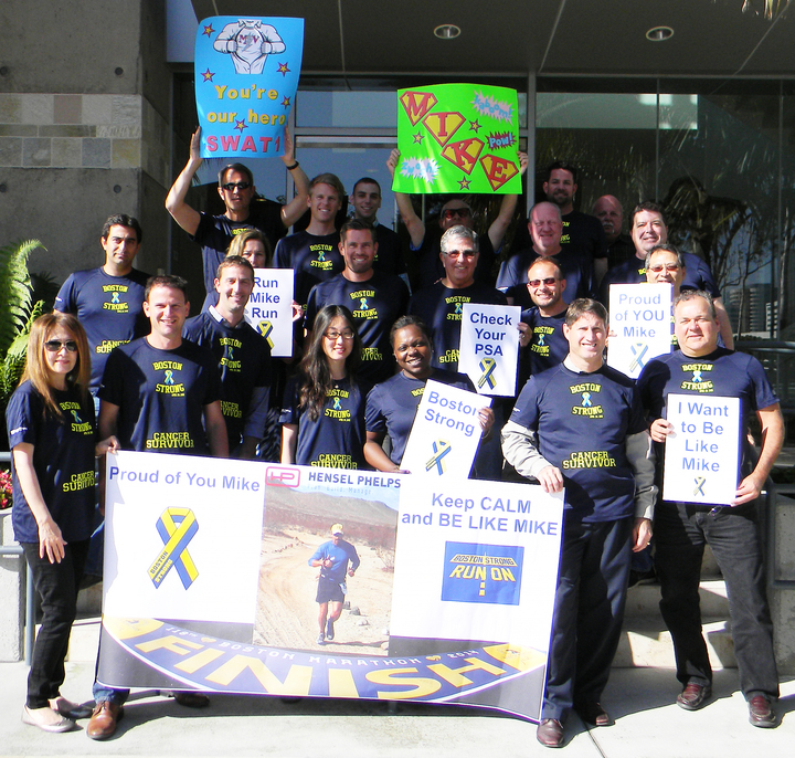 Boston Marathon – Verrastro Strong T-Shirt Photo