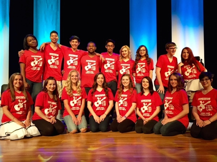 Lewisville High School Show Choirs T-Shirt Photo