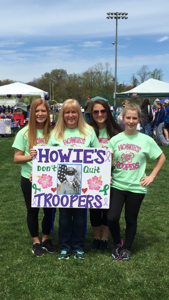 Relay For Life Howie's Troopers  T-Shirt Photo