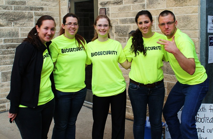 Biosecurity For Your Safety T-Shirt Photo