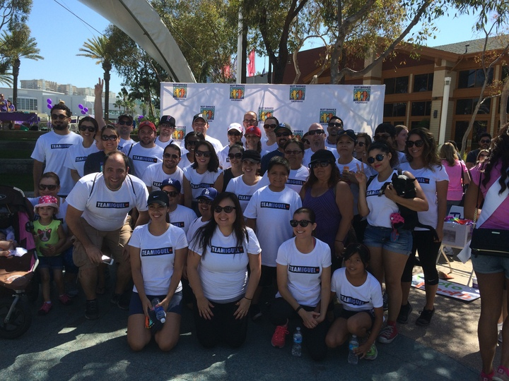 Team Miguel Best Buddies Friendship Walk 2015 T-Shirt Photo