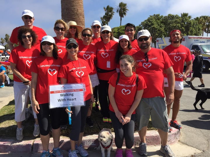 Aha Ventura Heart Walk Fundraiser T-Shirt Photo