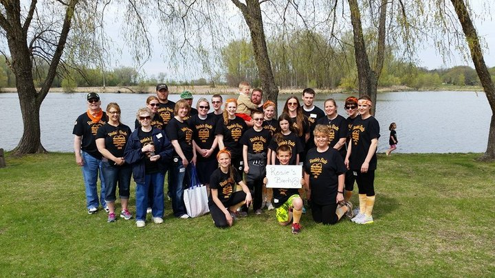 Rosie's Buds Ms Walk 2015 T-Shirt Photo