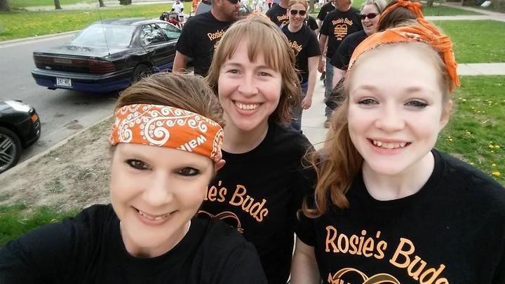 Rosie's Buds Team T-Shirt Photo