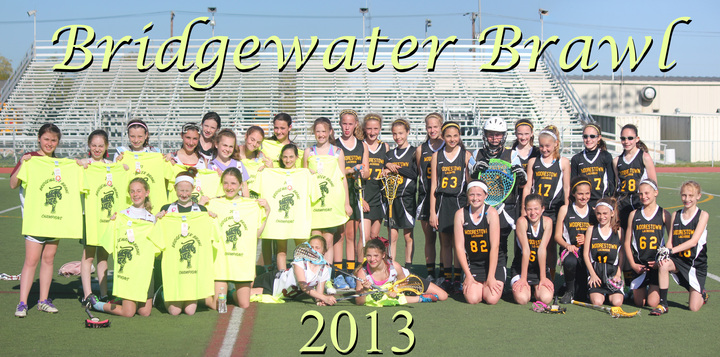 2014 Bridgewater Brawl Champions T-Shirt Photo