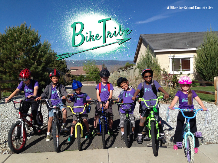 Bike Tribe Kids United In Their Soft New Shirts! T-Shirt Photo