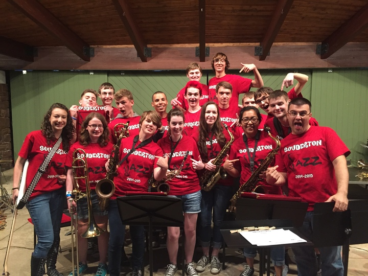 Souderton Area High School Jazz Band 2014 2015 T-Shirt Photo