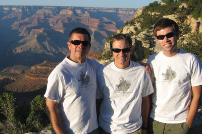 44 Mile Grand Canyon Hike T-Shirt Photo