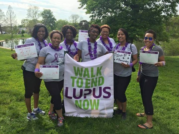 Lupus Walk 2015 T-Shirt Photo