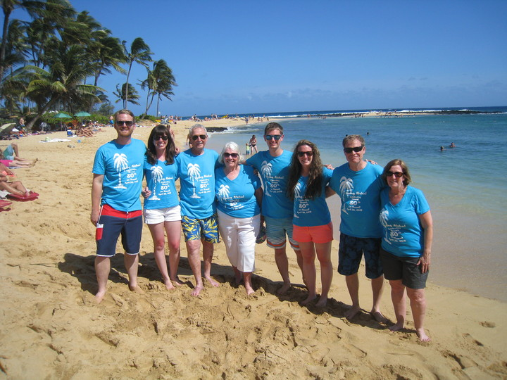 Gram's 80th Birthday In Kauai T-Shirt Photo