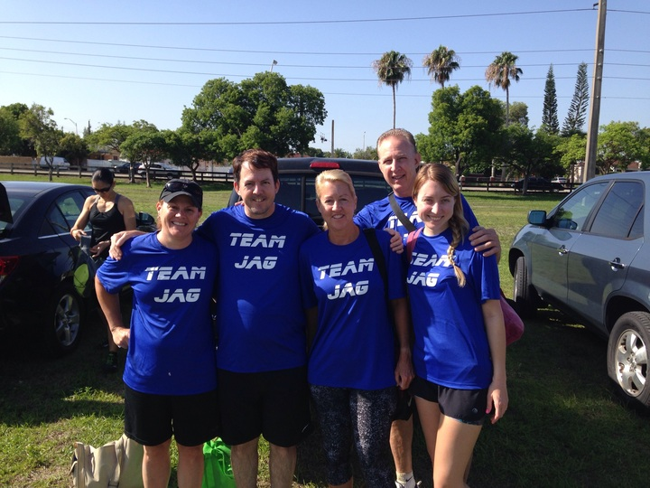 Team Jag  T-Shirt Photo