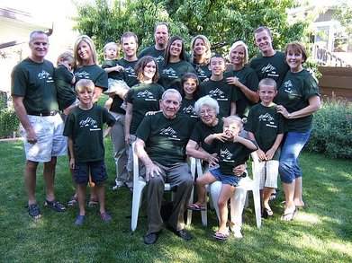 Four Generation Reunion T-Shirt Photo