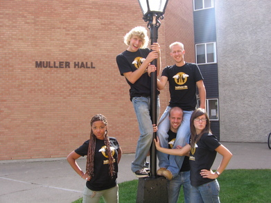 Taylor University College Residence Staff T-Shirt Photo