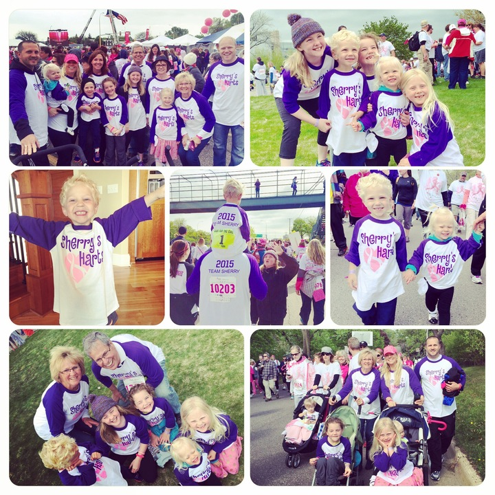 Race For The Cure 2015 Mother's Day T-Shirt Photo