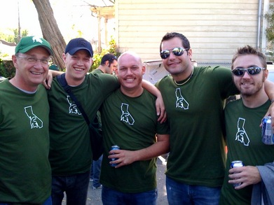 The Spartans Descend Upon Cal Berkeley T-Shirt Photo