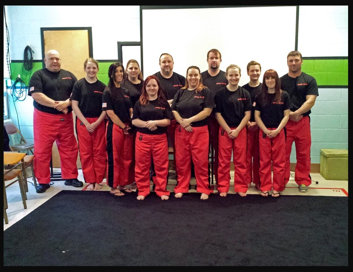 Tiger Society Martial Arts Demonstration Team T-Shirt Photo