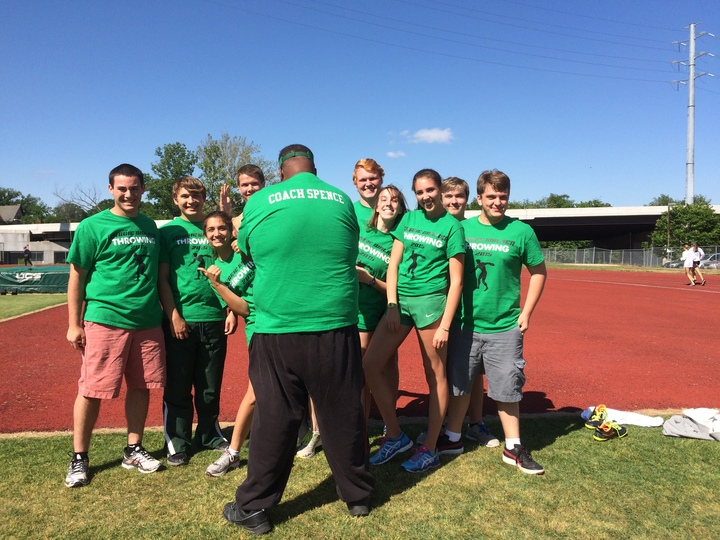Maggie Walker Throwing Team 2015 T-Shirt Photo