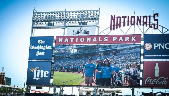 Leading Our Team Into Nats Stadium    T-Shirt Photo