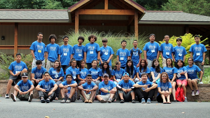 Youth Group Camp T-Shirt Photo