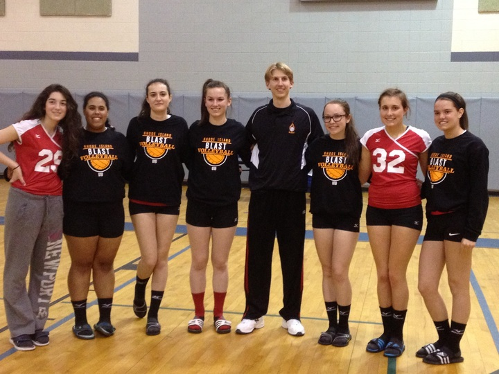 Blast Volleyball Club T-Shirt Photo