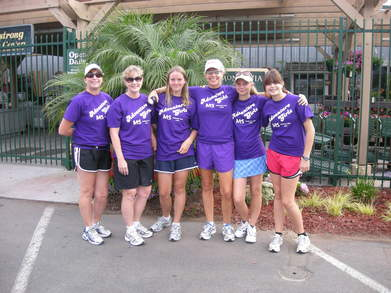 The Adventure Girlz Before The 50 Mile Ms Walk T-Shirt Photo