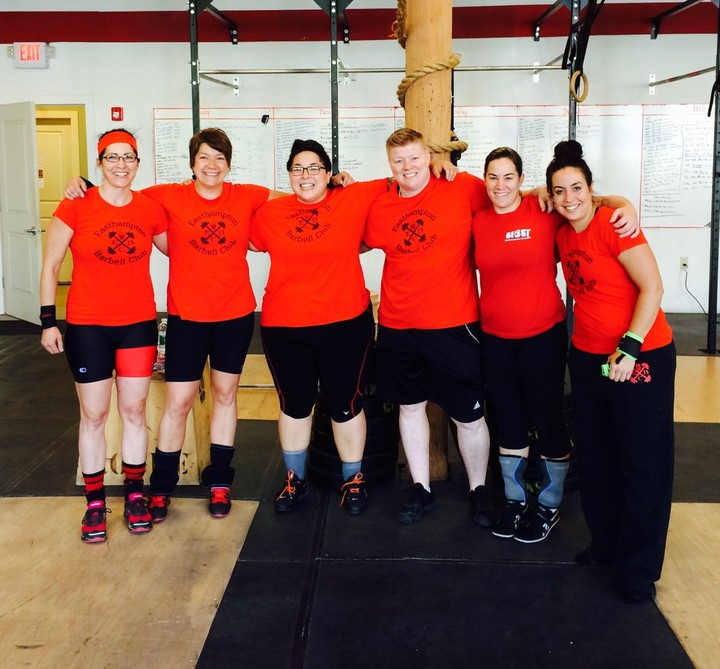 Easthampton Barbell Club T-Shirt Photo