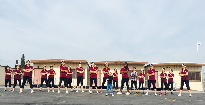 Fontana High School Cheer 2015 2016 T-Shirt Photo