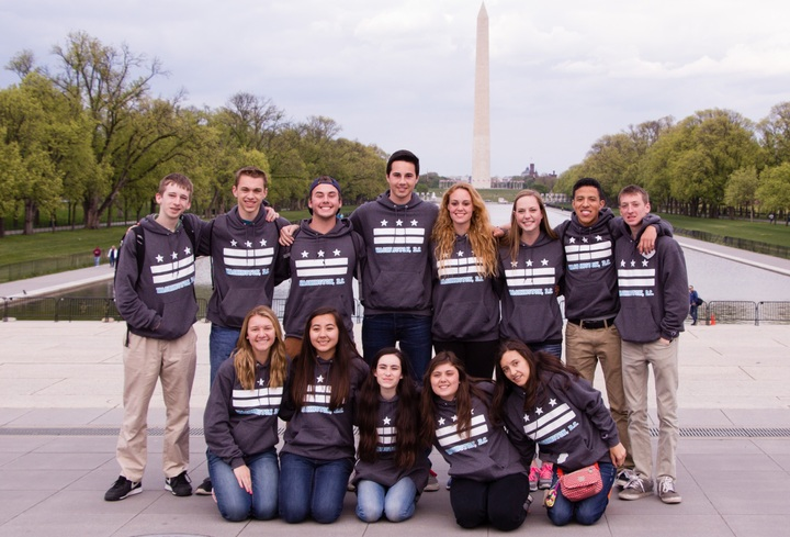 Class Trip To Washington D.C. T-Shirt Photo