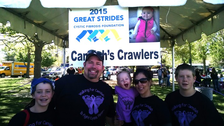 Great Strides Walk Denver Co 2015 T-Shirt Photo