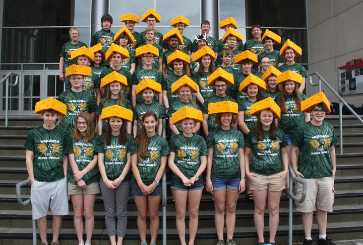 Menomonie High School National Science Olympiad Team T-Shirt Photo