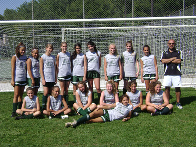 Lindenhurst Soccer Girls T-Shirt Photo
