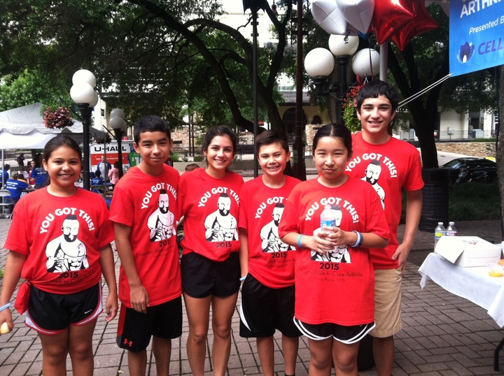Houston Walk To Cure Arthritis  A Team T-Shirt Photo