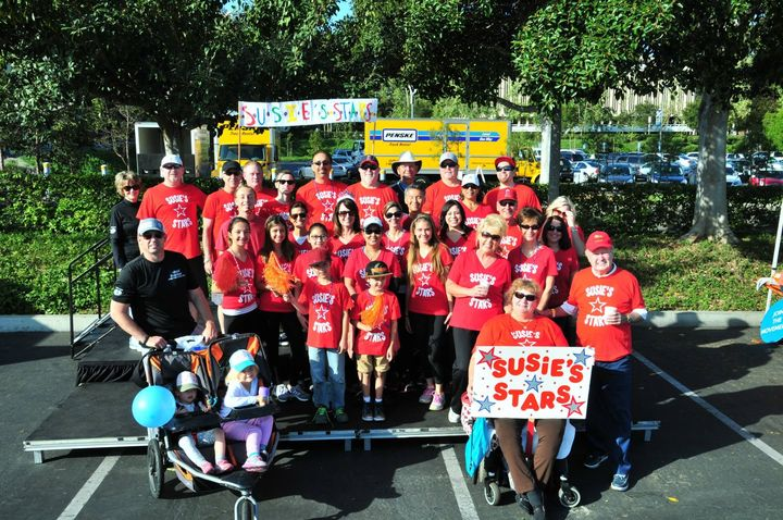 Susie's Stars Ms Walk 2015 T-Shirt Photo