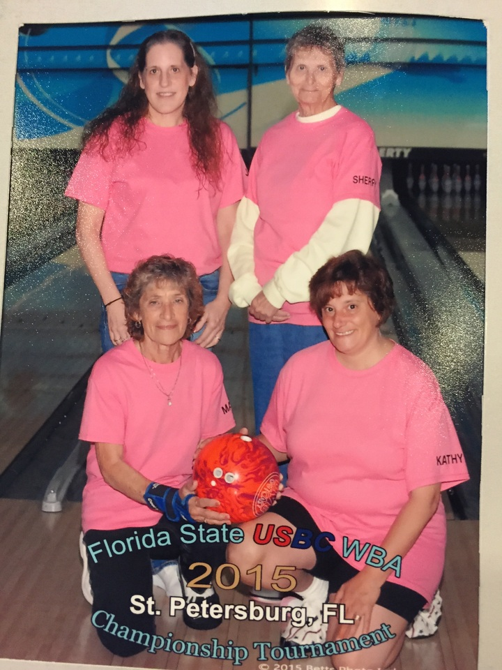 Women's Bowling State Tournament T-Shirt Photo