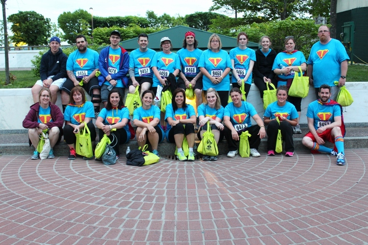 Super Team's Super 5 K Run! T-Shirt Photo