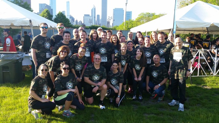 J.P.Morgan Corporate Challenge 2015! T-Shirt Photo