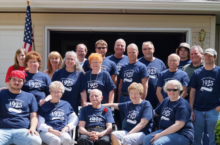 90th Birthday For Eg Russ T-Shirt Photo
