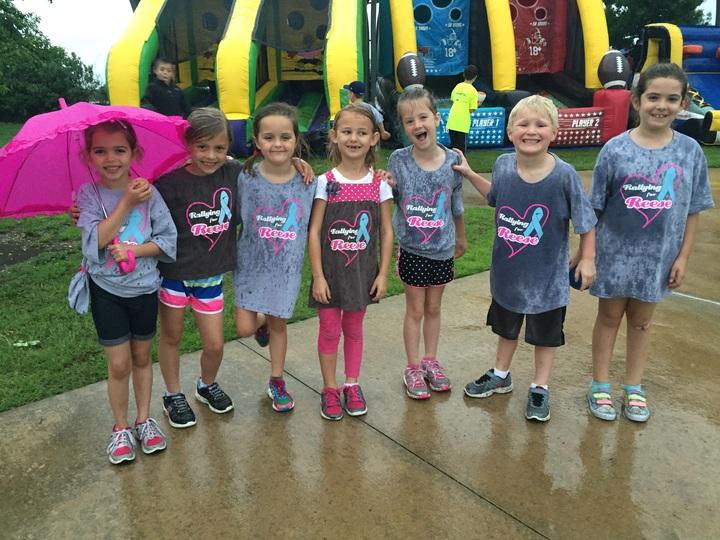 Rallying For Reese 2015 Rain Or Shine! T-Shirt Photo