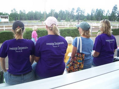 Dressage Desperados On Their First Date With The New Shirts. T-Shirt Photo
