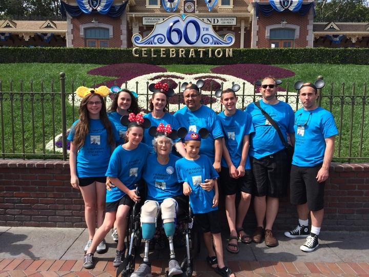 Grammy's Groupies Trip To Disneyland T-Shirt Photo