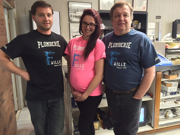 Faille Plumbing T-Shirt Photo