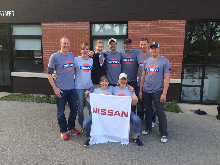 Team Nissan @ Bayshore Marathon T-Shirt Photo