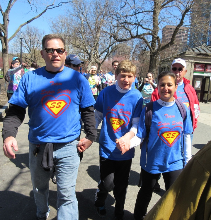 Team Super Scotty Walking To Make A Difference For Those Impacted By Congenital Heart Disease T-Shirt Photo