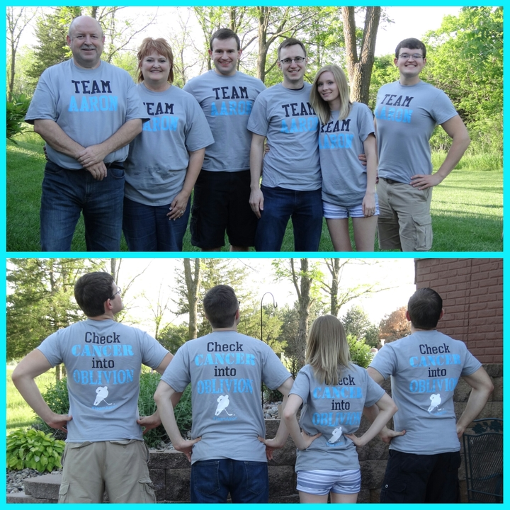 Team Aaron T-Shirt Photo